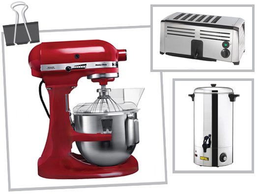 restaurant appliances