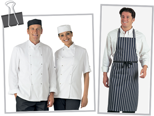 catering chefs clothing