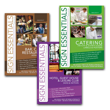 catering signs